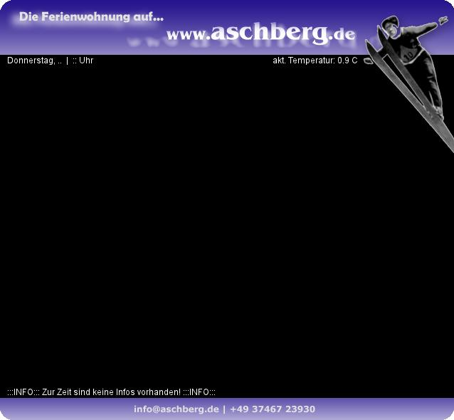 Meteostanice: Aschberg 835 m n. m.